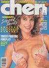Cheri October 1989 magazine back issue