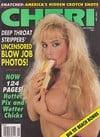 Cheri November 1991 magazine back issue