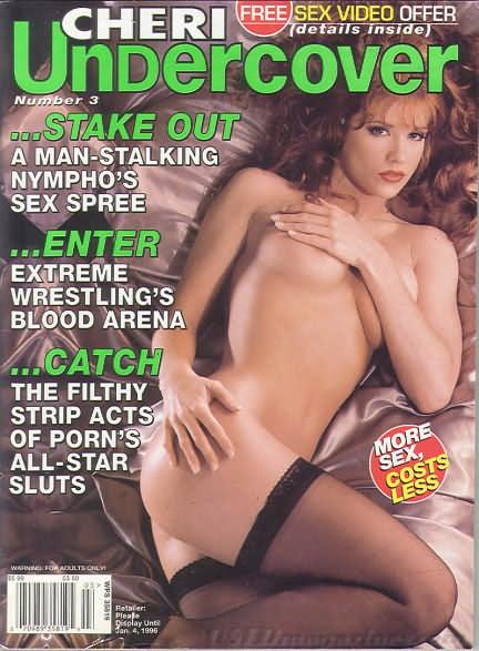 Cheri Undercover # 3 magazine back issue Cheri Undercover magizine back copy