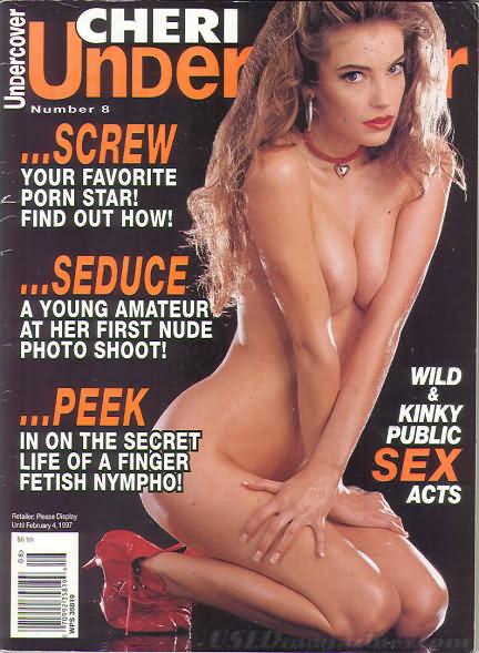 Cheri Undercover # 8 magazine back issue Cheri Undercover magizine back copy