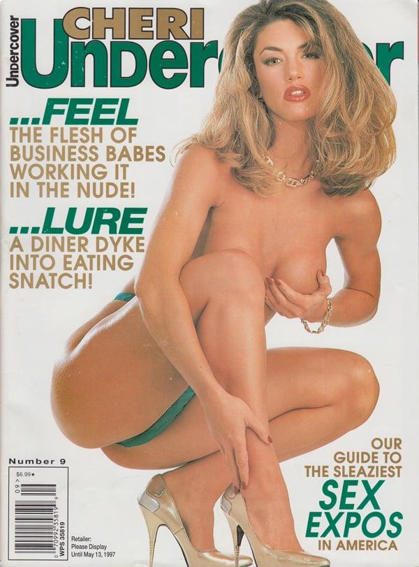 Cheri Undercover # 9 magazine back issue Cheri Undercover magizine back copy