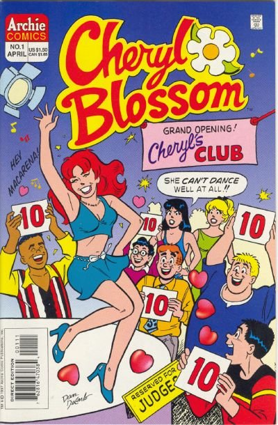 Cheryl Blossom Comic Book Back Issues by A1 Comix