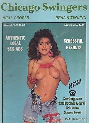 Chicago Swingers # 33 magazine back issue Chicago Swingers magizine back copy