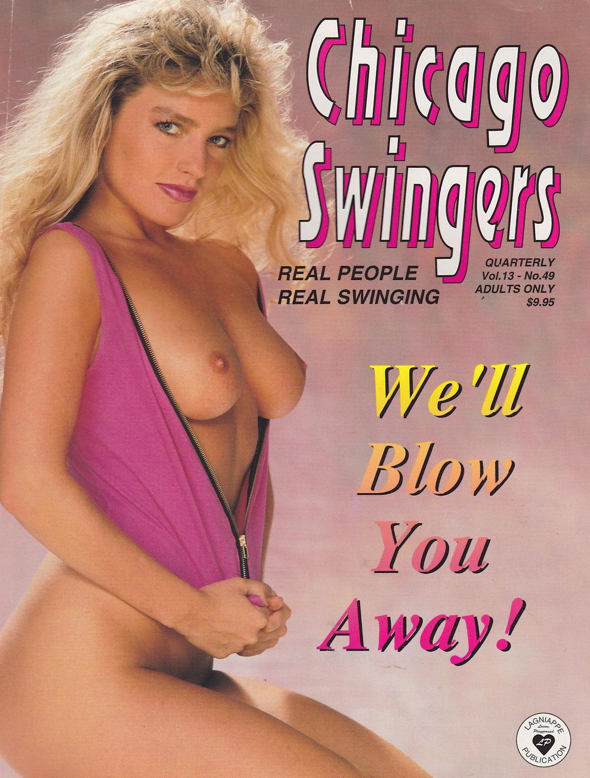 Chicago Swingers # 49 magazine back issue Chicago Swingers magizine back copy