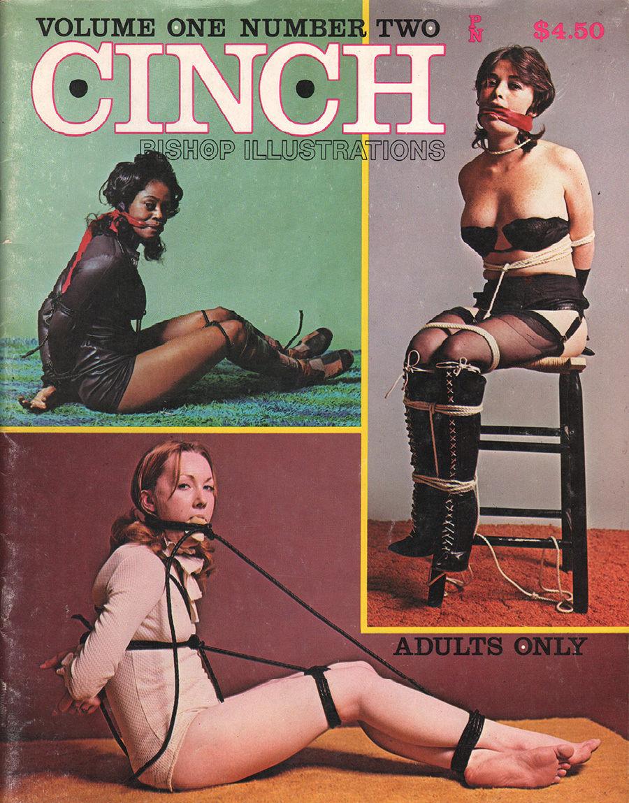 Cinch Vol. 1 # 2 magazine back issue Cinch magizine back copy
