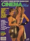 Stephanie Rage Cinema Blue October 1988 magazine pictorial