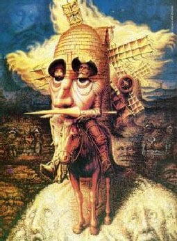 clementoni jigsaw puzzle, 1000 pieces don quixote puzzle artofillusiondonquixote