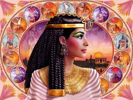 cleopatra clementoni jigsaw puzzle, 1000 pieces puzzle cleopatra