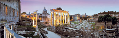 Panoramic View Jigsaw Puzzle of Rome made by Clementoni who are owned by Ravensburger # 312993 romepanoramicview
