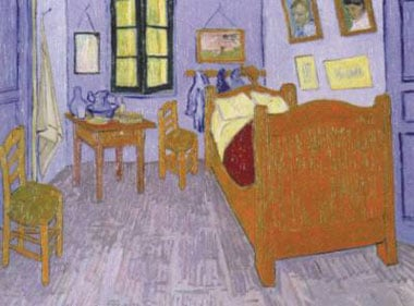 Arles Room painting by Vincent VanGogh Jigsaw Puzzels 1000Pieces museum collection arlesroom