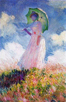 clementoni artpaintings by monet, woman with parasol jigsaw puzzle 1000 pieces womanwithparasol