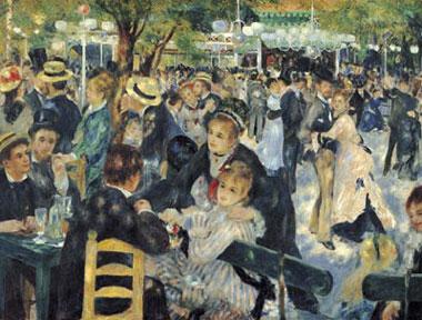 PierreAuguste Renoir paintre baldumoulin musee casse-tete cassetetes 1000 pieces clementoni baldumoulindelagalettemuseumseries