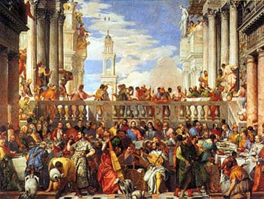 Veronese Caliari Paolo Italian painter museum series jigsaw puzzle 1000 pieces clementoni jigsaws themarriageincanamuseumcollection