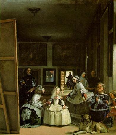 clementoni jigsaw puzzle 1000 pieces, painting by velasquez las meninas maids of honour damesinwaitinglasmeninas