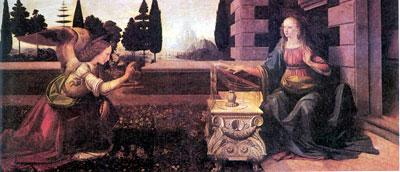 art puzzles by clementoni, davinci's annunciation 1000 pieces, archangel gabriel annunciationdavinci