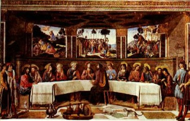 Roselli artist painter jigsaw puzzle the last supper museumseries clementoni # 314393 thelastsuppermuseumcollection