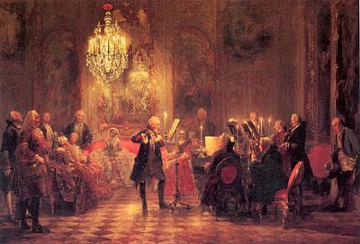 painting by menzel, flute concert, 1000 pieces jigsaw puzzle, clementoni fluteconcert