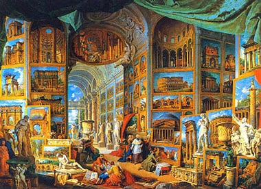 GiovanniPaoloPannini MuseumSeries JigsawPuzzles manufacturer Clementoni Italy Puzzle Maker 1000Piece ancientromespecialmuseumseries