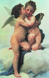 WilliamBouguereau Bougerau Bougerault Bugeraux The First Kiss Clementoni jigsaw puzzle 31468 museum thefirstkiss