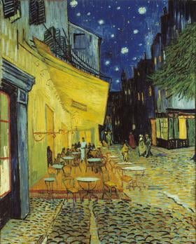 Cafe de Noche Van Gogh painting jigsaw puzzle museum collection 1000pieces clementoni artwork cafdenocheexterior