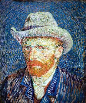 van gogh self-portrait, clementoni 1000 pieces jigsaw puzzle clementoni vangoghselfportrait