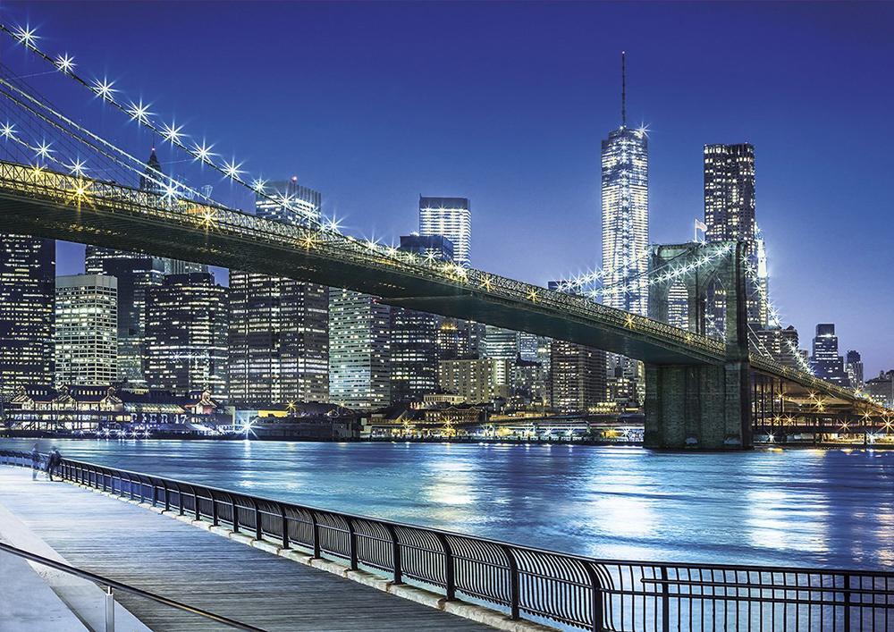 Clementoni Jigsaw Puzzle New York Brooklyn Bridge Puzzel