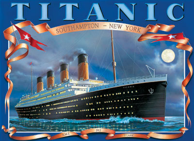 Clemmy Puzzle Jigsawpuzzle titanic royal majesty's ship 1912 titanic-1912-rms-clementoni-1500