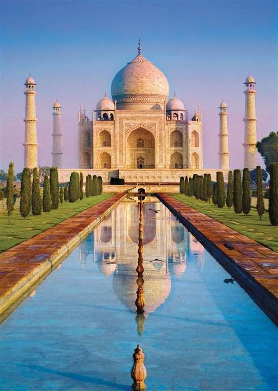 Taj Mahal India Agra Palace TajMahal 1500 Piece JigsawPuzzle Clementoni puzzles italy taj-mahalindia