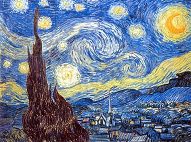 StarryNight Vincent VanGogh Jigsaw Puzzle Clementoni 2000 Pieces # 320783 starrynight