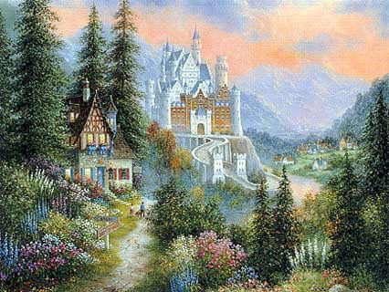 bearmont castle jigsaw puzzle, 2000 pieces clementoni puzzle bearmontcastle