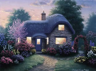 Clementoni Jigsaw Puzzle 2000 Pieces Hutchinson Cottage # 325115 Painter of Light hutchinsoncottage