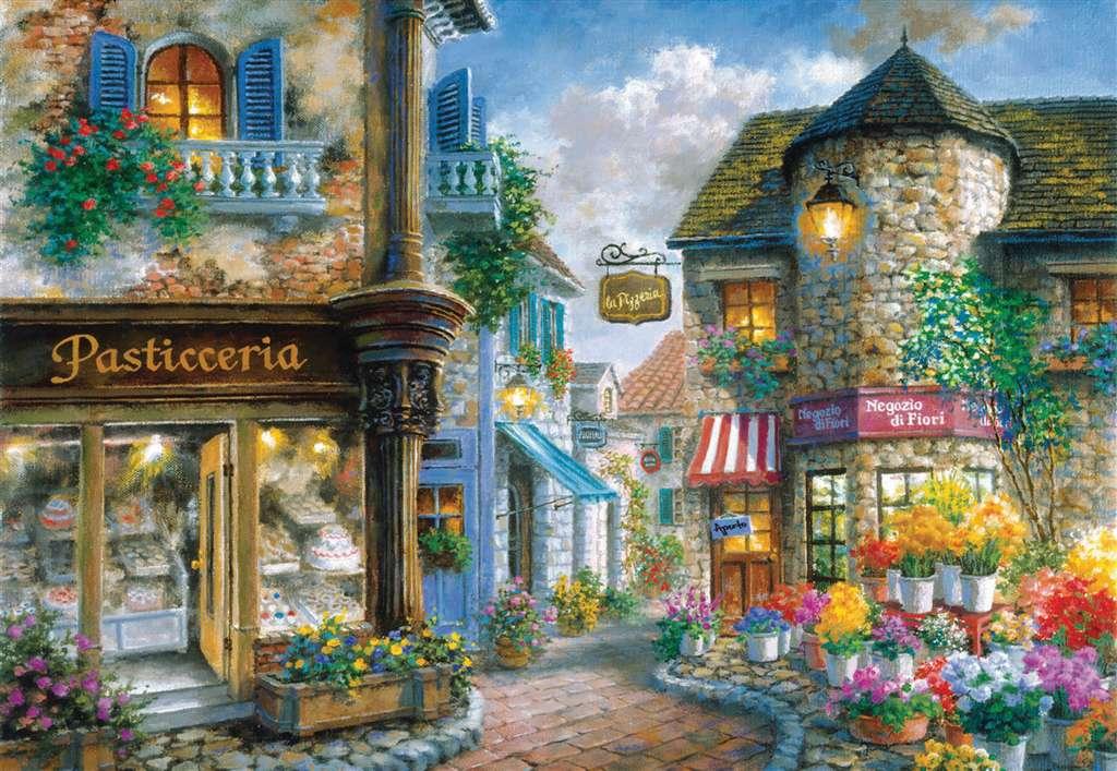 Clementoni Jigsaw Puzzle 2000 Pieces Piazza Bella # 325306 Fantasy Series piazza-bella