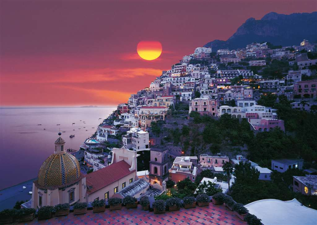 Jigsaw Puzzle Clementoni 2000 Pieces positano italy JigsawPuzzle Ravensburger Division Quality positano-italy-2000