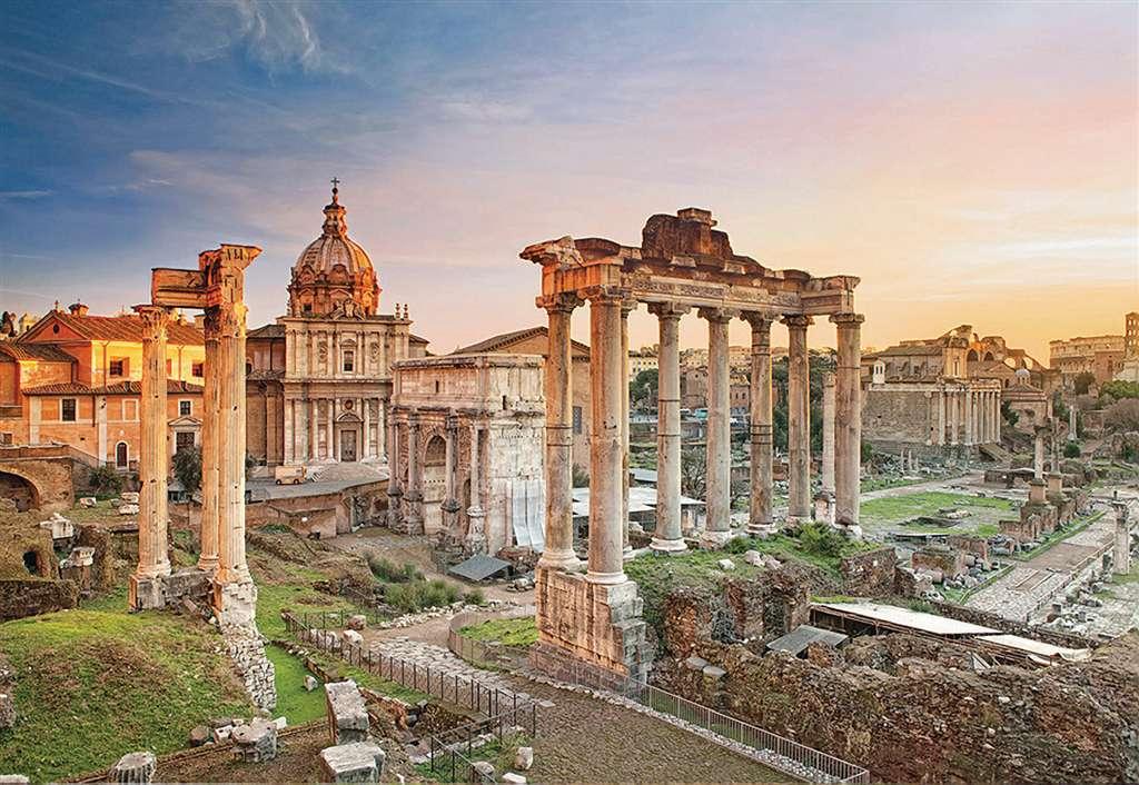 Roman Forum 2000 Piece Jigsaw Puzzle Clementoni puzzles 32549 roman-forum