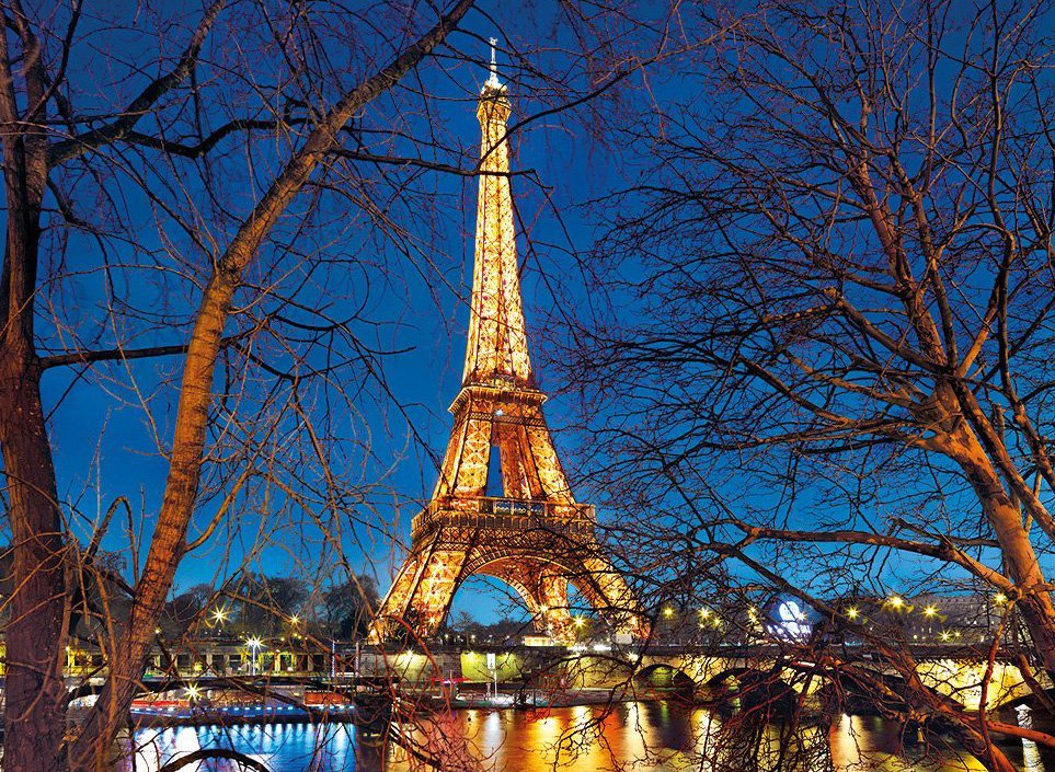 eiffel tower jigsaw puzzle, clementoni yesterday collection, 2000 pieces paris-eiffel-tower-2000