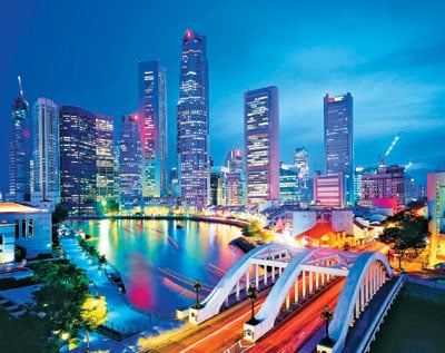 clementoni jigsaw puzzle 3000 pieces, singapore city lights singapore-city-lights-puzzle