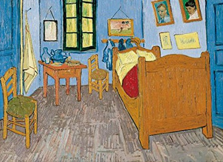 Arles Room painting by Vincent VanGogh Jigsaw Puzzels 3000Pieces museum collection van-gogh-room-arles