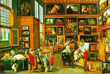 JacobJordaens flemish painter collection painting jigsaw puzzle clementoni 4000 Pieces # 345014 thecollection