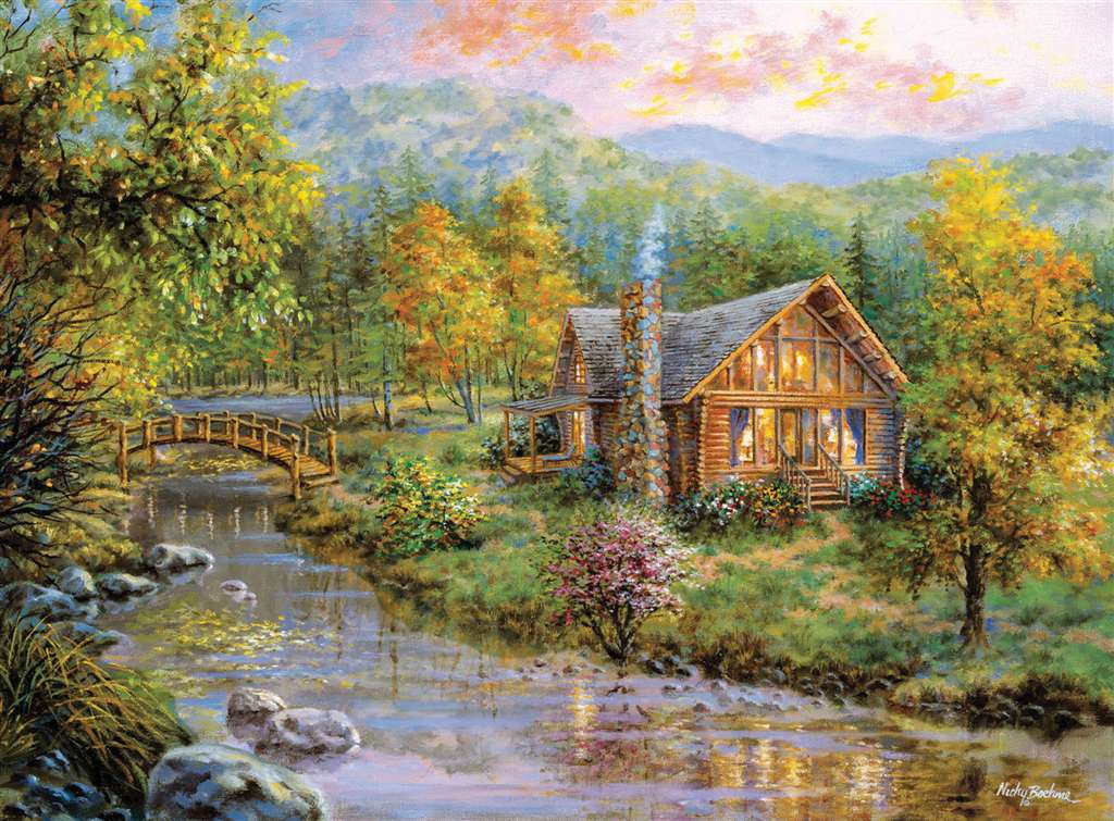 Clementoni Jigsaw Puzzle 4000 Pieces Peaceful Grove # 34512 Painter of Light peaceful-grove