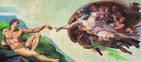 michelangelo buonarroti creation of adam painting,  13200 pieces puzzle by clementoni michelangelo-creation-of-adam-sistine-chapel-puzzl