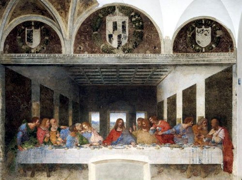 leonardo da Vinci's last supper painting,  13200 pieces puzzle by clementoni davincilastsupper