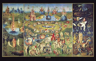 Bosch's painting The Garden of Earthly Delights 1000 Piece Jigsaw Puzzle Clementoni 1000Pieces thegardenofearthlydelightsmuseumseries