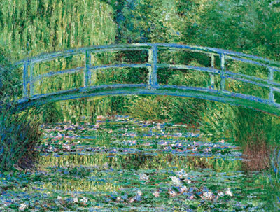 clementoni art painting by monet, water lily pond jigsaw puzzle 1000 pieces water-lily-pond-monet