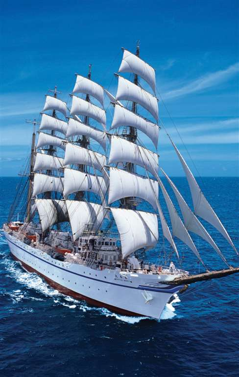 1000 pieces jigsaw puzzle by clementoni, sailing ship in the sea sailing-ship