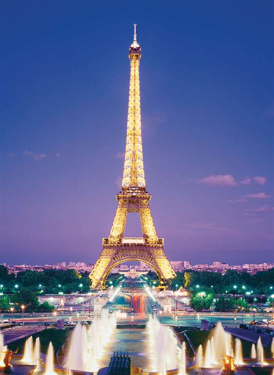 paris' eiffel tower jigsaw puzzle, clementoni, 1000 pieces paris-eiffel-tower-clementoni