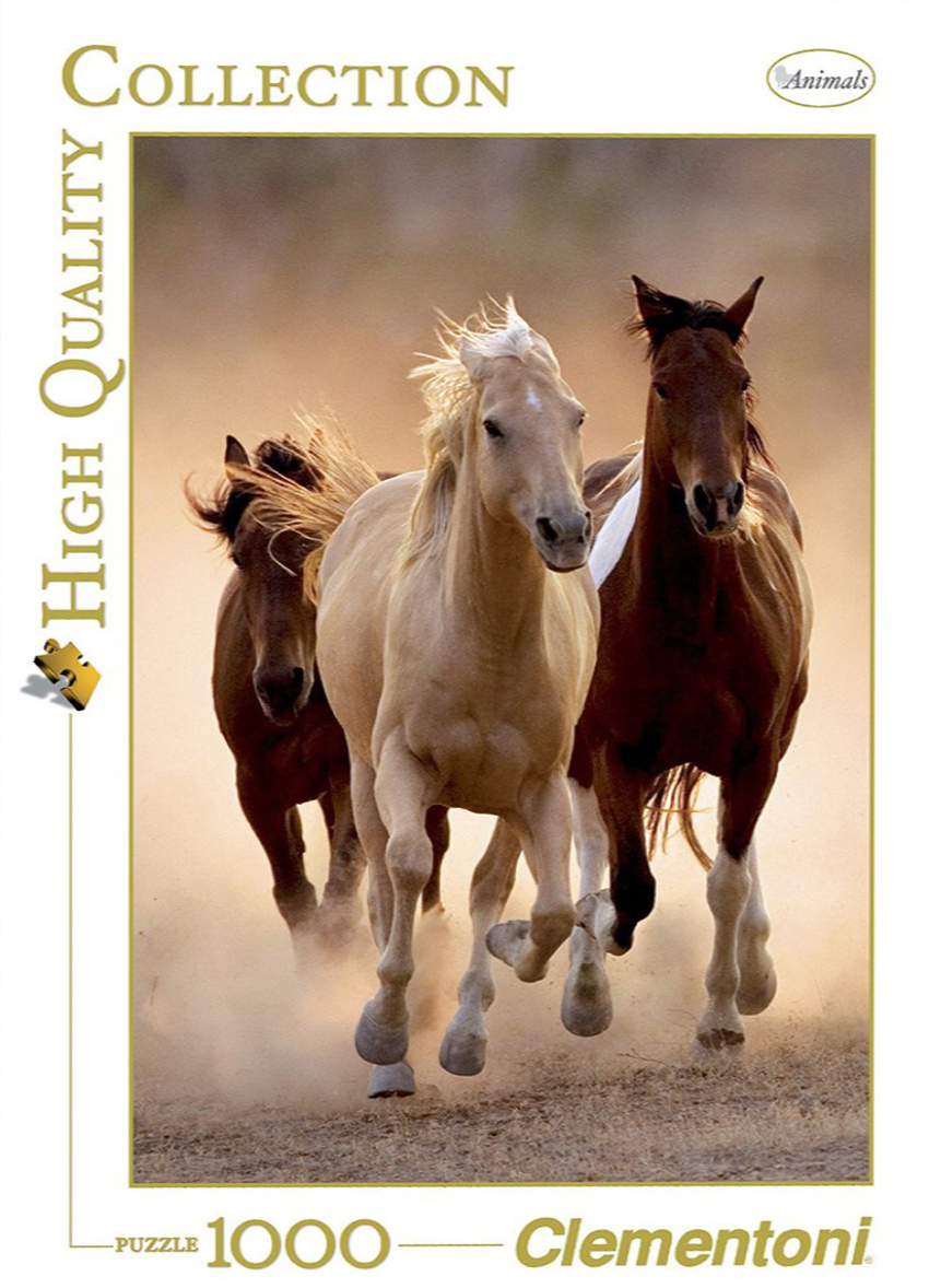 Running Horses View Jigsaw Puzzle made by Clementnoi JigsawPuzzles # 39168 running-horses