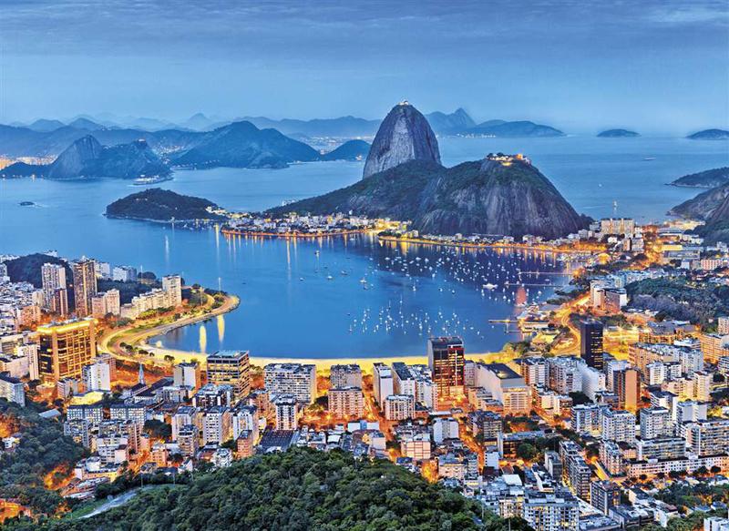 Rio de Janeiro photograph jigsaw puzzle clementoni puzzle 1000 rio-de-janeiro