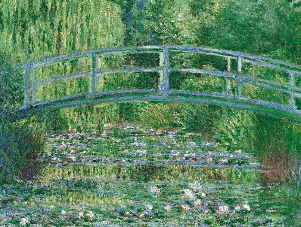 clementoni art painting by monet, water lily pond jigsaw puzzle 1000 pieces water-lily-pond-1000