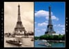 eiffel tower jigsaw puzzle, clementoni yesterday collection, 1000 pieces