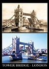 london tower bridge jigsaw puzzle by clementoni, 1000 pieces, yesterday collection